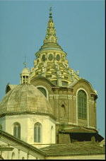 Domes of the Cathedral and the Shroud Chapel